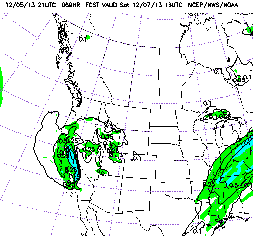 We chose the Ensemble Forecast model today because we were tired of looking at pics of the GFS.