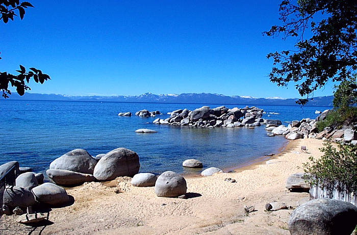 25 places to find the soul of summer in tahoe for Shore fishing lake tahoe