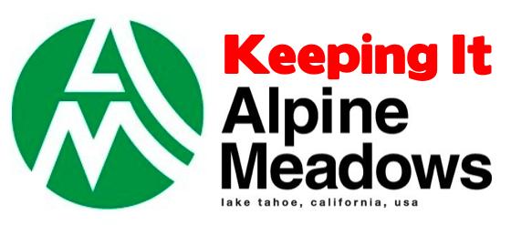 Keeping It Alpine