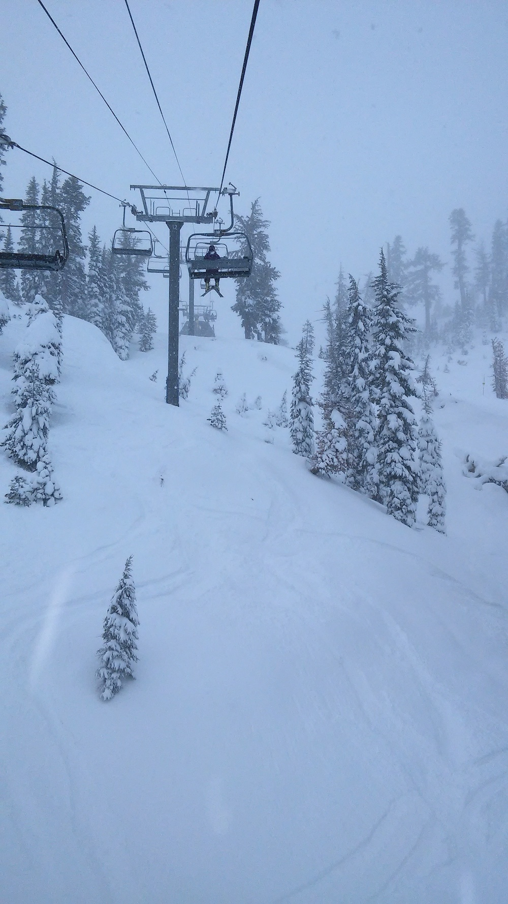 It looks like we missed another fine day at Alpine Meadows. Photo by Valley Girl