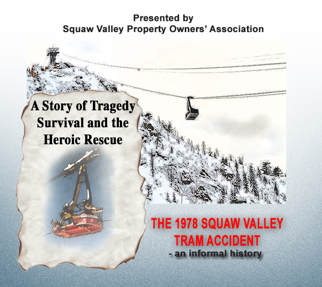 There's a couple of quick news bits to share from the Squaw Valley side of the world this morning.