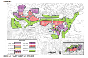 Much of Squaw Valley would be filled with buildings near 100 ft tall if SVRE plans are approved.