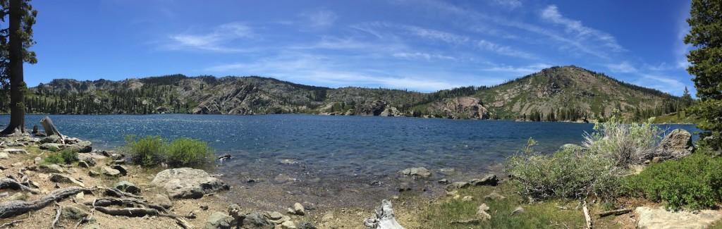Mount Elwell looms over Long Lake