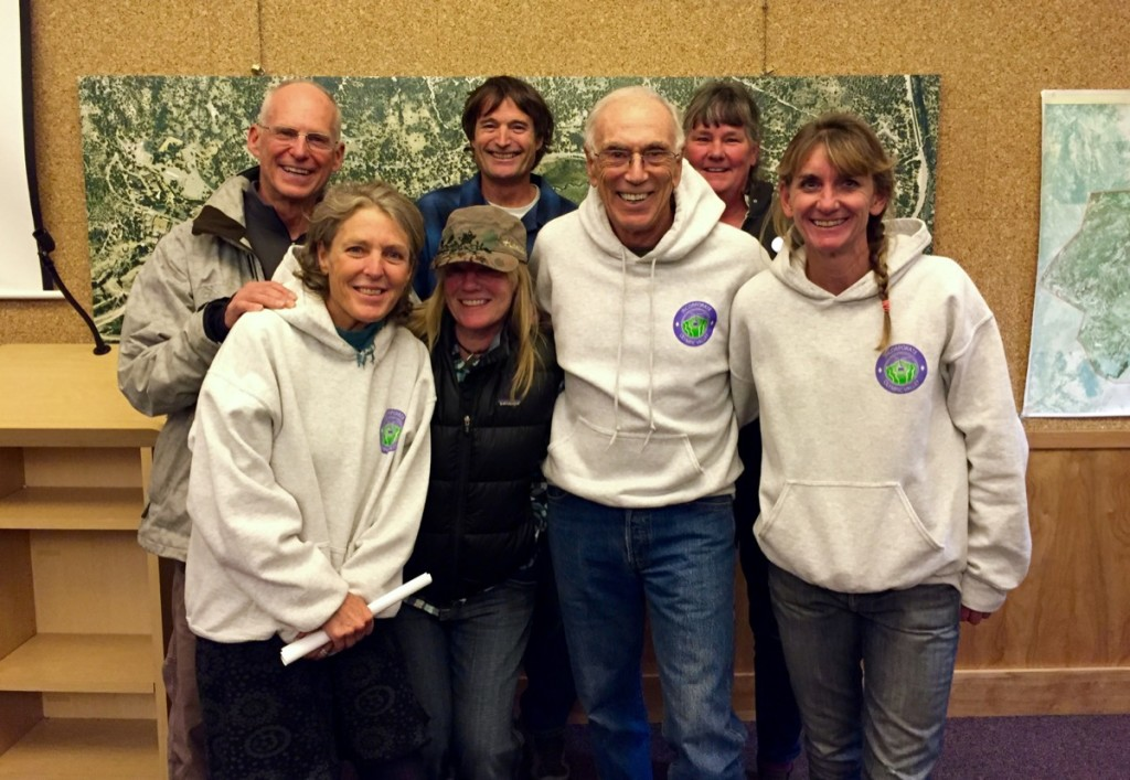 Incorporate Olympic Valley board members had plenty to smile about tonight.