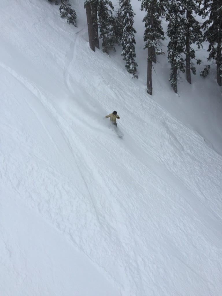 It's those powder turns that keep us coming back...