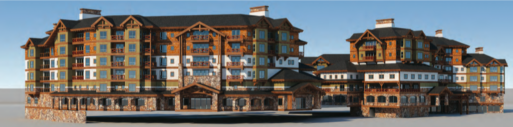 A monstrous looking building proposed for the Village at Squaw Valley? We think so...