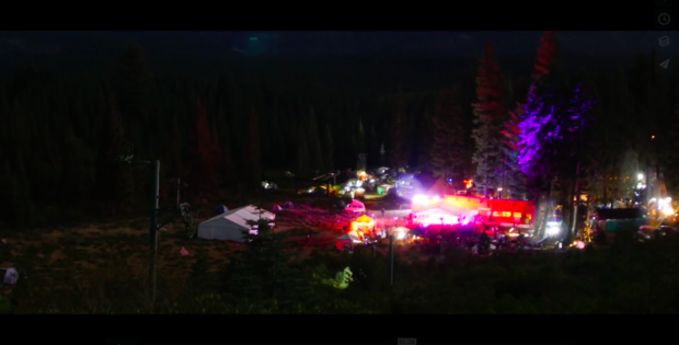 The skies over the Johnsville Ski Bowl were lit up with energy at the 2015 Lost Sierra Hoedown.