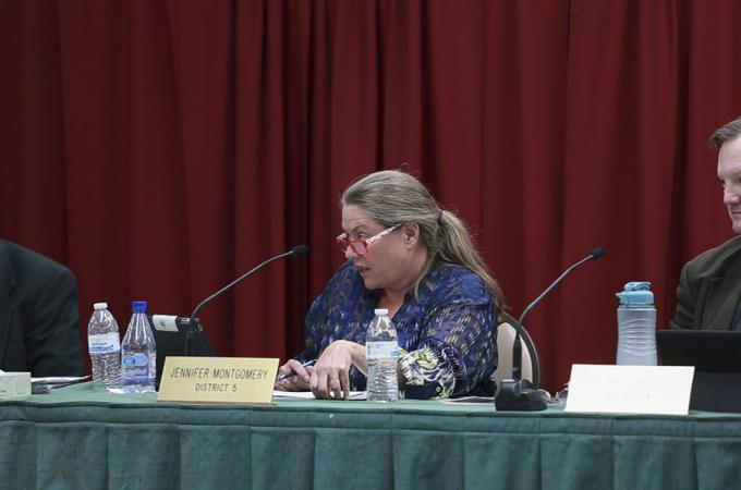 Supervisor Montgomery asked the tough questions this week. Image courtesy of Moonshine Ink